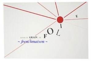 POILANE Most Famous Paris Bakery French Art Postcard New Avoir un Grain de Folie