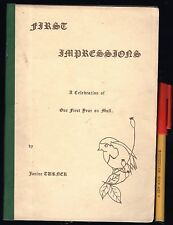 RARE! FIRST IMPRESSIONS Our First Year on MULL, Scotland 52 pagesStories & Poems