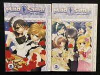 Maid Sama! 2, 3 Manga Graphic Novel Tokyopop OOP Romance