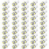50pcs LED 5 SMD W5W Auto Lampe Standlicht Birne Leselampe CANBUS T10 XENON WEIß