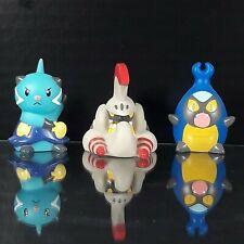3 Pcs. 2011 Pokemon Finger Puppet Bandai Nintendo Monster Official Toys Set