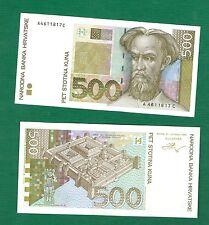 CROATIA HRVATSKA 500 KUNA 1993 .G.  .G no-82 -  UNC