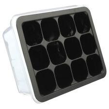 MINI GREENHOUSE 12 cells propagation tray kit, nursery,germination,seed starter