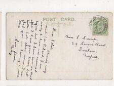 Miss Ethel Crump Cowper Road Dereham Norfolk 1910 415b