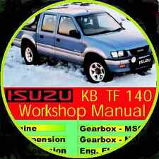 ISUZU HOLDEN RODEO TF 140 2WD-4WD 1988-2002 REPAIR SERVICE MANUAL CDROM