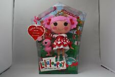 LALALOOPSY QUEENIE RED HEART FULL SIZE DOLL WITH PET PINK FLAMINGO NEW MIP