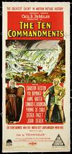 The Ten Commandments Movie Poster Insert 14x36 Replica