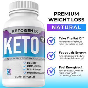 Ketogenix Keto Pills 360 Slim Advanced Weight Loss Diet Keto Burn VIP Ketones