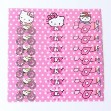 12 Pcs Set, Hello Kitty water bottle labels Kids Birthday Party Supplies