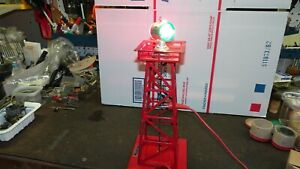 Lionel 394 Red Beacon Light Tower  Working