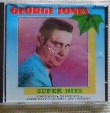 GEORGE JONES --- SUPERHITS    CD