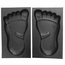 Schalungsform 1 Paar Füße Gießformen Trittsteine Gehwegplatten Beton Gips Gießen