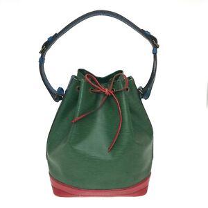 100% authentic Louis Vuitton Noe tricolor shoulder bag M44082 [Used] 1224-28B