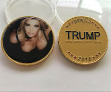 US Ivanka Trump Donald Sexy Coins Commemorative Collectibles Souvenir BADGE Coin