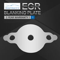 EGR Blanking Plate for Nissan Navara D22 YD25 turbo diesel common rail with hole