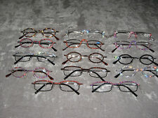 Made with Swarovski Crystal Jeweled Reading Glasses +2.75 Bling Wire Frames NEW!
