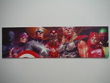 MARVEL THE AVENGERS EXCLUSIVE BOOKMARK IRONMAN THOR CAPTAIN AMERICA PLUS MORE