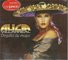 Alicia Villareal CD NEW Orgullo De Mujer ALBUM Con 10 Canciones !