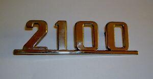 FIAT 2100/ SCRITTA POSTERIORE/ REAR NAMEPLATE