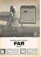 PUBLICITE ADVERTISING 054  1966  FAR   chauffage à mazout