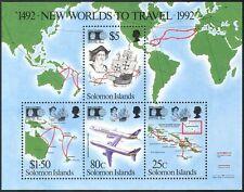 Solomons 1992 Columbus/Aviación barcos// Mapas/Marino/transporte 4v m/s (s4185)