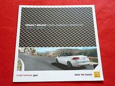 """Renault Megane Coupe-cabriolet """"Monaco GP"""" colección folleto de 2012"""
