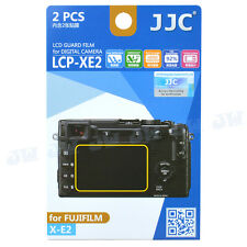 JJC 2pcs LCD Guard Film Camera Screen Protector for FujiFilm Fuji X-E2 XE2