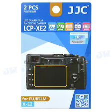 JJC 2pcs LCD Guard Film Camera Display Screen Protector For FujiFilm X-E2 Camera