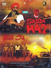 SADDA HAQ - ORIGINAL BOLLYWOOD PUNJABI DVD - FREE POST