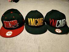 Snapback Hats YMCMB Caps x3 Multicolours - Young Money Cash Money Billionaires