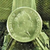CIRCULATED 1986 5 CENTS NEW ZEALAND COIN (103018)1.....FREE DOMESTIC SHIPPING