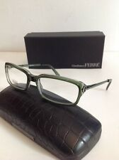 Gianfranco Ferré occhiale Da Vista Verde nero plastica rettangolare Prezzo210,00