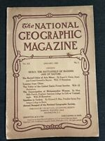 1909-01 JANUARY NATIONAL GEOGRAPHIC SICILY ITALY-CHINA-FORESTS-ASIA MINOR-TURKEY