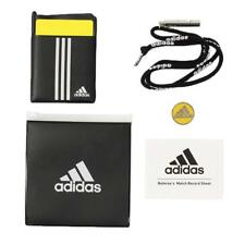 Adidas Japan Football Referee Whistle Yellow and Red Card Booklet Set Dml96