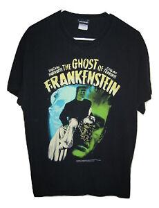 Frankenstein In Color Rock Rebel Licensed Classic Horror Men/'s T-Shirt
