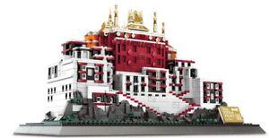 Wange 6217 Architektur Bausatz Potala Palast Tibet (1464 Teile) NEU
