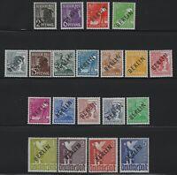 Germany - 1948 - Sc # 9N1 thru 9N20 - Complete - Mint OG NH - Signed Schlegel