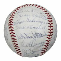 Extraordinary 1937 All Star Game Signed Baseball 34 Sigs! Jimmie Foxx PSA DNA