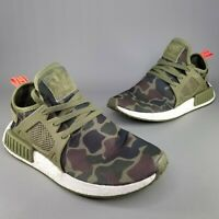 adidas NMD XR1 Duck Camo Running Shoes Mens Size 9.5 Boost Olive Green Black