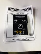 Elenco Function Generator FG-500 fully assembled and operational and tested.