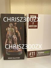"Modern Icons Doom Eternal Doom Slayer Statue Figure 10"" Doomguy Marine Bethesda"