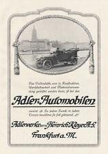 Adlerwerke Frankfurt a.M. Heinrich Kleyer AG Braunbeck Motor Platte A2 432