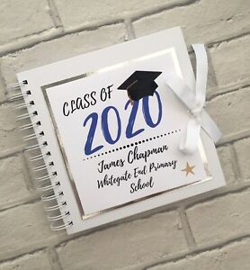 Personalised School Leavers/Graduation Book. High Quality, 80 Pages