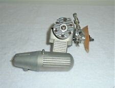 Enya SS 40 Model Airplane Motor With Muffler & Tap - Good Clean - Strong Comp -
