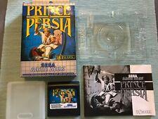 Sega Game Gear Spiel   Prince of Persia mit Anleitung und OVP