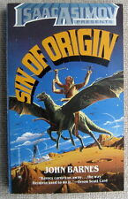 Sin of Origin by John Barnes PB 1st Worldwide (Isaac Asimov Presents)