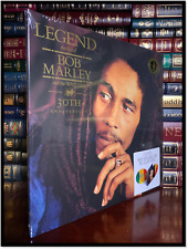 Bob Marley Legend New Limited Edition Tri-Color Red Yellow & Green 2 LP Vinyl
