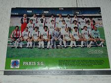 CLIPPING POSTER FOOTBALL 1983-1984 PARIS SAINT-GERMAIN PSG PARC-DES-PRINCES