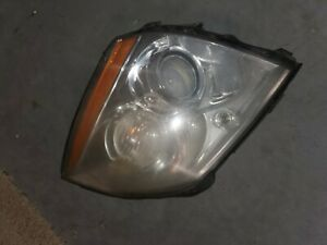 2006-2011 Cadillac DTS Driver Side LEFT LH Xenon HID Headlight Headlamp OEM Used