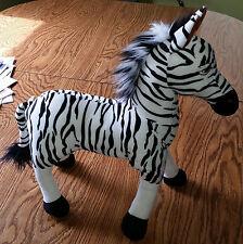 Lion King Animal Kingdom DISNEY STORE EXCLUSIVE Zebra Stuffed Animal Plush Toy